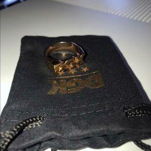 Gold DGK ring size-10